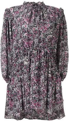 Isabel Marant paisley ruffle georgian dress