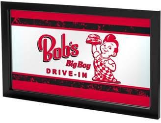 Trademark Global Bobs Big Boy Vintage Framed Logo Mirror