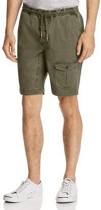 Michael Bastian Garment Dyed Drawstring Cargo Shorts $98 thestylecure.com