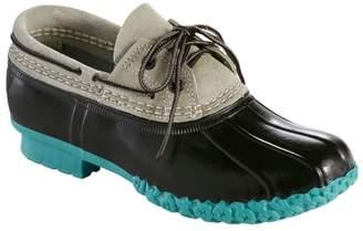 L.L. Bean Women's L.L.Bean Boots, Two-Eye Boat Gumshoes, Suede
