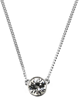 "Givenchy Necklace, Swarovski Element Pendant, 16"" + 2"" Extender"