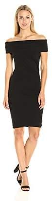 Pam & Gela Women's Off Shoulder Dress