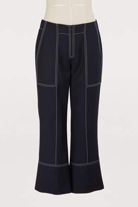 Kenzo Cotton cropped pants