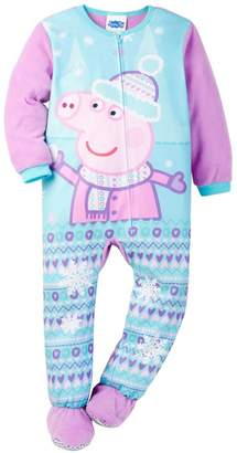 Komar Kids Peppa Pig Sleeper Footie Toddler Pajamas for girls