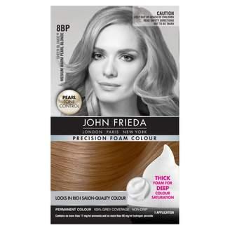 John Frieda Precision Foam Colour 8BP Medium Warm Pearl Blonde 1 pack