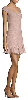 Rebecca Taylor Women's Tweed Flounce Dress