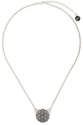 Karl Lagerfeld Faceted Choupette necklace