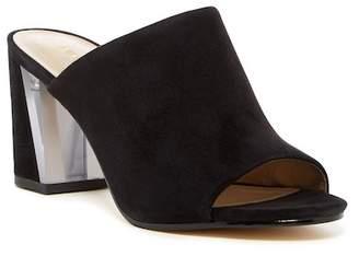 Nine West Gemily Block Heel Slide Sandal