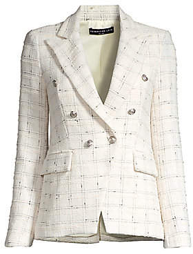 Generation Love Women's Alexa Bouclé Tweed Blazer
