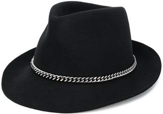 Stella McCartney wool chain hat