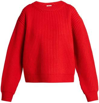 Acne Studios Oversized wool-knit sweater