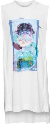 Y-3 +adidas Oversized Printed Jersey Tank