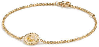 David Yurman 18k Cable Collectibles Pave Moon & Stars Bracelet