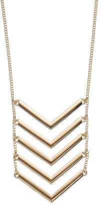 Apt. 9® Chevron Ladder Necklace $20 thestylecure.com