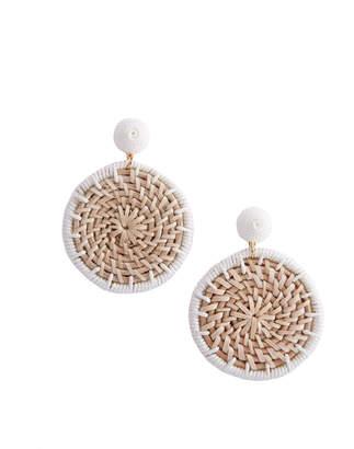 Vineyard Vines Basket Weave Earrings