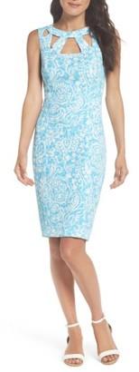 Women's Eliza J Cutout Sheath Dress $118 thestylecure.com