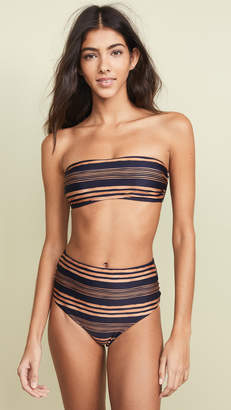 Vix Paula Hermanny Isabela Bandeau Bikini Top