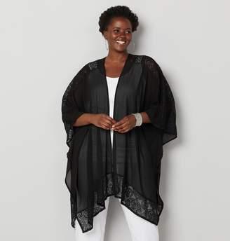 9c2f3394a Black Lace Jacket For Women Plus Size - ShopStyle