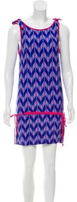 Marc by Marc Jacobs Sleeveless Printed Cover-Up Dress