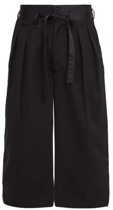 SASQUATCHfabrix. Hakama Wool Trousers - Mens - Black