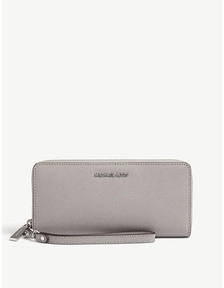 MICHAEL Michael Kors Jet Set Travel leather continental wallet