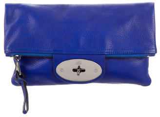 Mulberry Postman's Lock Clutch $220 thestylecure.com