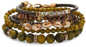 Canvas Eclectic Mixed Bracelet Set