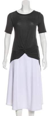 Enza Costa Short Sleeve Top