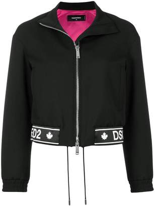 DSQUARED2 logo printed jacket