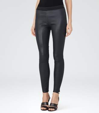 Reiss Carrie Leather Leggings