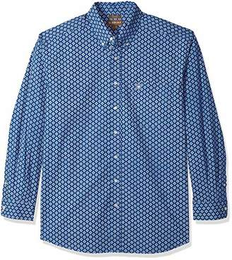Ariat Men's Fitted Long Sleeve Button Down Shirt