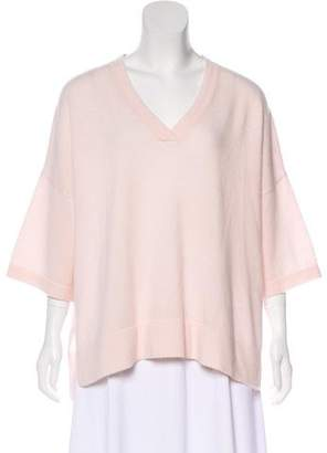 Vince Oversized Short Sleeve Top