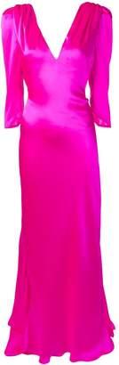 Maria Lucia Hohan Derya structured shoulder dress