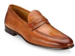 Saks Fifth Avenue COLLECTION BY MAGNANNI Tri-Media Penny Loafers