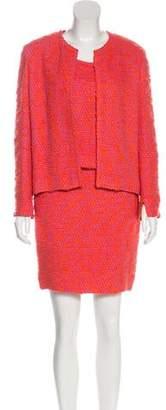 Chanel Bouclé Three-Piece Suit