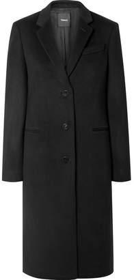 Theory Cashmere Coat - Black