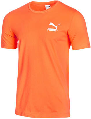 Puma Men's Tropical Printed-Logo T-Shirt