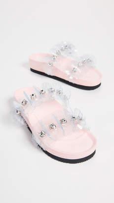 SUECOMMA BONNIE Flower Sandals