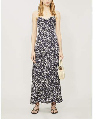 Free People Under The Moonlight floral-print rayon-blend maxi dress