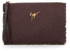 Giuseppe Zanotti Textured Leather Pouch