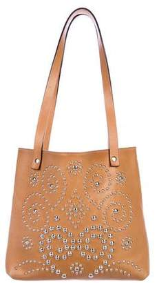 Dolce & Gabbana Studded Leather Tote