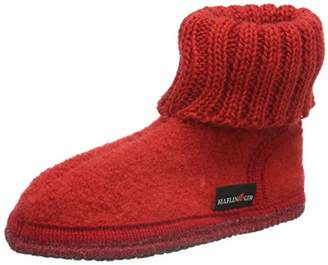 Haflinger Unisex Kids' Hüttenschuh Karl High Slipper Boots,13UK Child