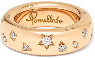 Pomellato 18-karat Rose Gold Diamond Ring