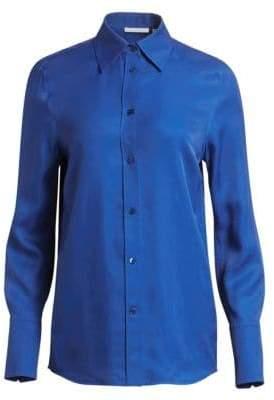 Helmut Lang Woven Button-Down Shirt