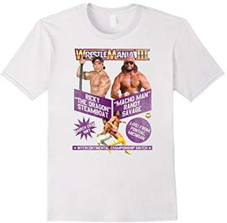 WWE Vintage WrestleMania III Steamboat vs Macho Man T-Shirt