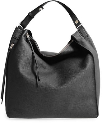 Allsaints 'Kita' Leather Backpack - Black $378 thestylecure.com
