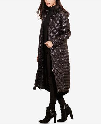 Lauren Ralph Lauren Long Hooded Packable Puffer Coat $350 thestylecure.com