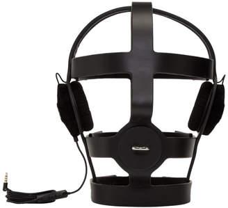 SSENSE Exclusive Black Arca Edition Tormenta Cage Headphone Head Piece