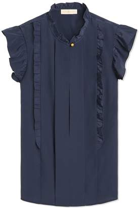 c0aa2f91f64313 Navy Blue Sleeveless Tops - ShopStyle