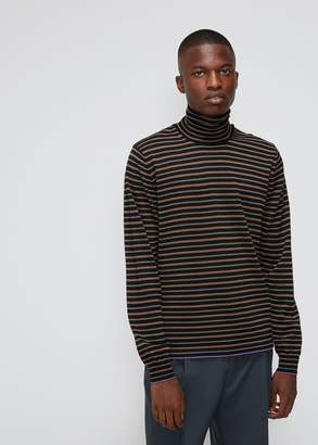 Lanvin Thin Stripe Turtleneck